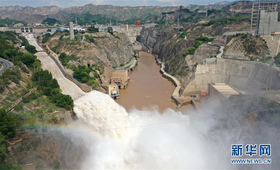 黄河上游多个水库加大下泄流量确保安全度汛